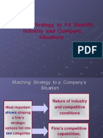 Ch 08 Tailoring Strategy to Fit Specific Industry and Company
