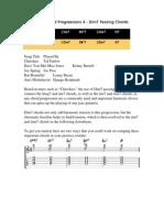 Jazz Guitar Chord Progressions 4