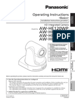 Panasonic AW-HE120WP