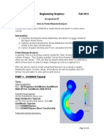 Assign 27 Hook and Conrod FEA