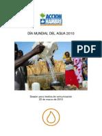 Dossier Día Mundial del Agua 2010