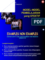 Model-model Pembelajaran Efektif