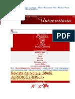 Avocatura in Raport Cu Alte Autoritati. Cazul Romaniei