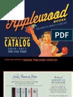 Applewood Books 2010-2011 Catalog