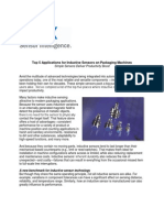 SICK White Paper- Top Five Places for Inductive Sensors