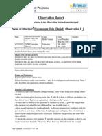 observation report 1 daniel shin  ls kristina