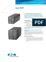 Eaton Pulsar Series Nova Datasheet