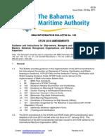Information Bulletin No 129 - STCW 2010 Amendments