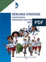 Renstra Kemdikbud 2015-2019