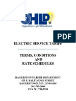 Hagerstown-Light-Department-Electric-Service-Tariff