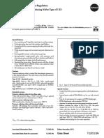 Regulator de presiune 41-23