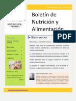 Boletin Nutricion en La Web Marzo 2010