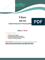 Cisco 300-101 Exam Test Practice