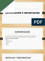 Exportación e Importación en el PERU