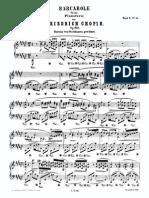 Chopin Barcarole Op.60