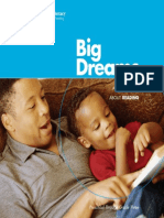 Big Dreams a Family Book About Reading
