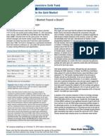 Has Gold's Cyclical Bear Market Found a Base