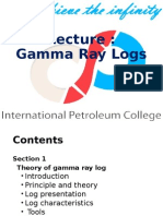 Lecture 7 Gamma Ray Log