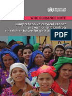 Comprehensive Cervical Cancer Prevention and Control