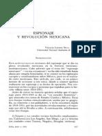 Espionaje y Revolucion Mexicana