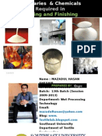 Auxiliaries Chemicals Required in Dyeing and Finishing