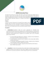 Internship Policy