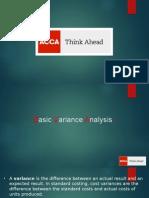 Basic Variance Analysis