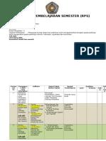 RPS Psikologi Pendidikan 2015 Lengkap