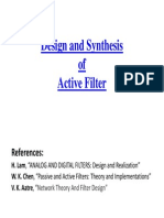 Active Filter DsD Lecture Slide