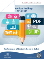 Performance of Indian Schools in Dubai Pages
