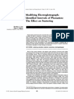 Modifying Electroglottograph- Identified Intervals of Phonation