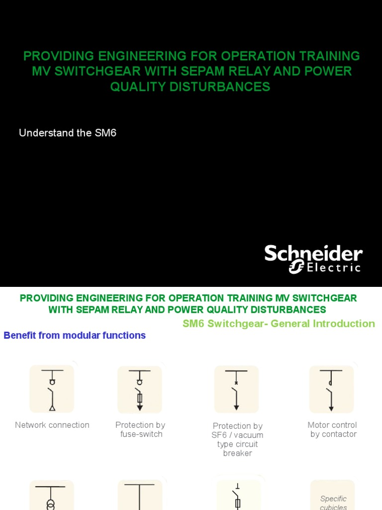 04 Sm6 Understand Switch Electricity Relay Circuit Training