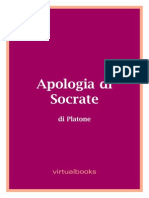 - Platone - Apologia Di Socrate