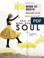 Word of Mouth Magazine Autumn 2015 Edition