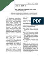 ASTM A105 - Especificação de Forjados Aço Carbono Em Tubulação 2003