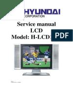 Hyundai H LCD1702