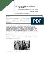 Contexto Familiar y Científico en Filosofía de La Ciencia. Ricardo Marcelina Rivas García