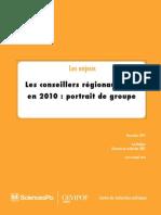 Conseillers régionaux 2010