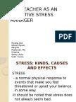 The Teacher as an Effective Stress Manager