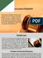 Divorce Lawyer Plainfield