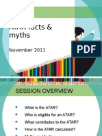 ATAR Facts Myths 3