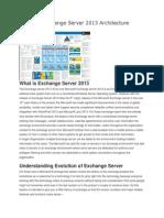 Exchange Server Evolution