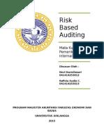 Resume Risk Based Auditing