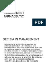 Management Farmaceutic Curs 2