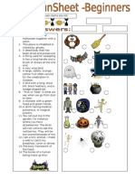 10752 Funsheet for Beginners Halloween