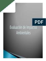 1 Evaluación de Impactos Ambientales