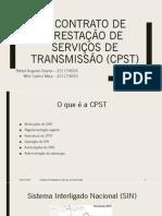 Contrato de Prestação de Serviços de Transmissão