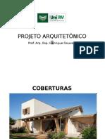 Projeto Arquitetônico II - Coberturas