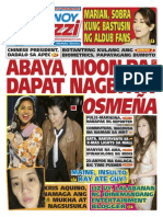 Pinoy Parazzi Vol 8 Issue 135 November 11 - 12, 2015