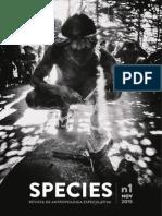 Species  - Revista de Antropologia Especulativa